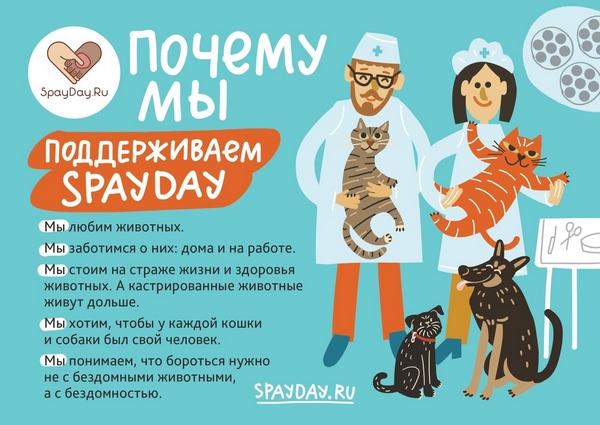 Всемирный День кастрации и стерилизации домашних животных 25.02.2020